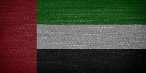 United Arab Emirates fabric flags