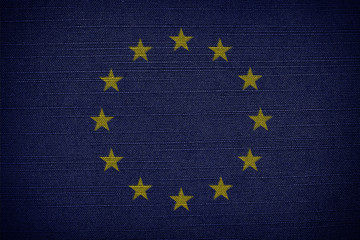 fabric flags of the European Union