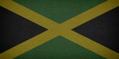 Jamaican fabric flags