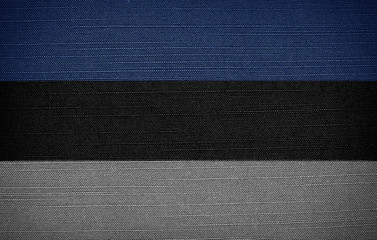 Estonian fabric flags
