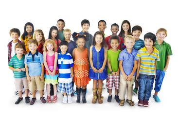 Kids Childhood Children Happiness Innocence Friendship Concept