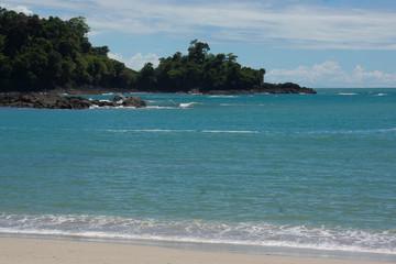 plage déserte du Costa Rica - Manuel Antonio