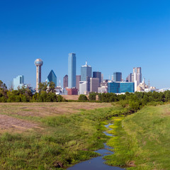A View of the Skyline of Dallas, Texas