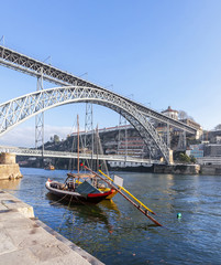 The iconic Rabelo Boats, the traditional Port Wine transports