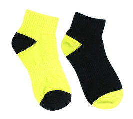Two-colored socks