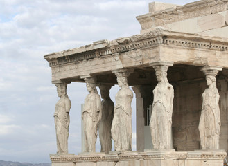 Porch of the Caryatids at Acropolis