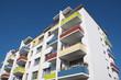 Sozialer Wohnungsbau: Sanierter Plattenbau - 78478778