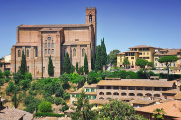 Church of San Domenico in Siena