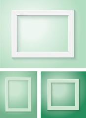 white frame set