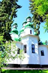 Church of Holy Trinity Monastery Kitaevo in Kiev