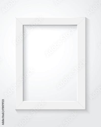 Fototapeta white frame