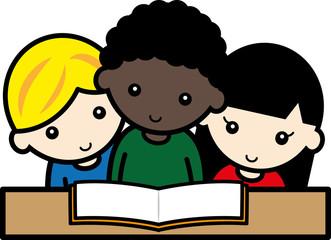 友達と読書