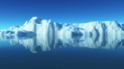 ice berg in north