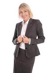 Erfolgreiche ältere Business Frau