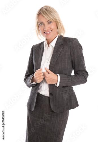 canvas print picture Erfolgreiche ältere Business Frau