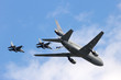 Fighter jets and tanker plane - 78481983