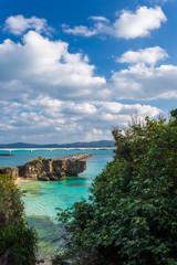 古宇利島の綺麗な海