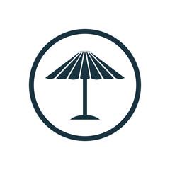 parasol mask icon