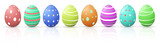 Fototapety Colourful beautiful Easter Eggs