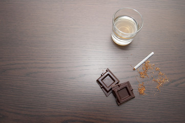 tobacco and chocolate whiskey