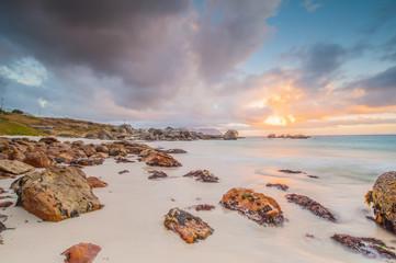 Oceanscape at sunrise