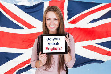 Woman Asking Do You Speak English