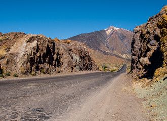 Volcano Teide, Tenerife. Canary Islands
