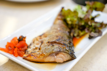 grill Saba Fish