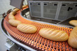 Bread bakery food factory. White bread. loaf - 78489967