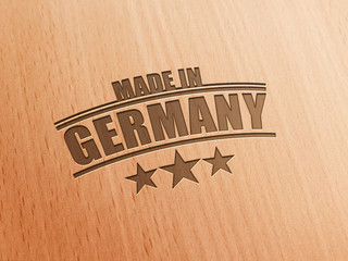Made in Germany - Holz D