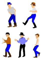 cowboys dancing