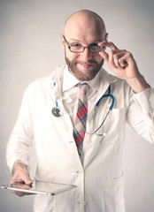 A handsome doctor