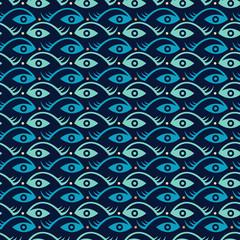 creative fish and eye