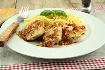 filets de poulet à la provençale