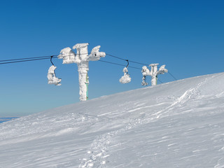 Chairlift in Fros
