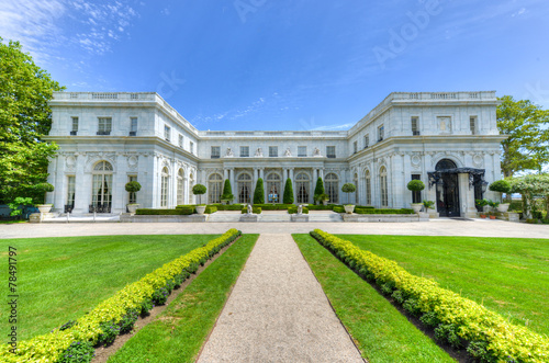 Aluminium Standbeeld Rosecliff Mansion - Newport, Rhode Island