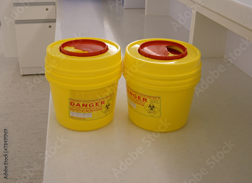 hazardous container - 78491969