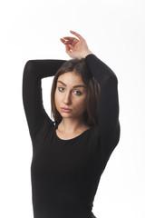 Porträt einer Balletttänzerin