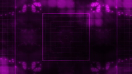 Looping Purple abstract animated background