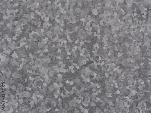 Poster Metal Texture of galvanized iron roof plate background pattern