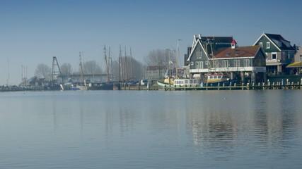 wharf at Volendam, The Netherlands