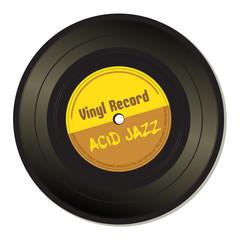 Acid jazz vinyl record