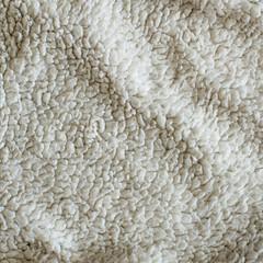 white Plush Blanket Texture