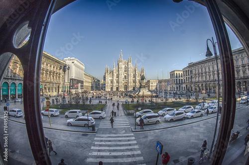 Foto op Canvas Milan Duomo di Milano
