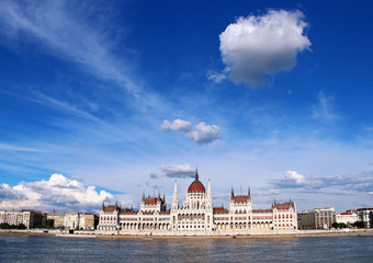 Building of Parliament in Budapest