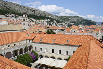 Roofs of Dubrovnic, Croatia