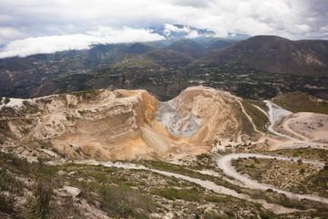 Sand mine, Quito, Ecuador
