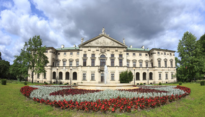 Krasiński Palace in Warsaw, view from the gardens
