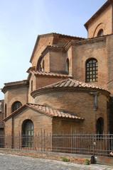 Italy Ravenna Saint Vitale Basilica peculiar frame