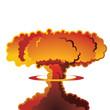 Nuclear explosion mushroom cloud - 78499121